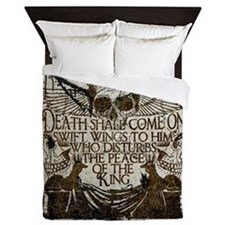Pharaoh's Curse Queen Duvet