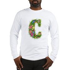 C Floral Long Sleeve T-Shirt
