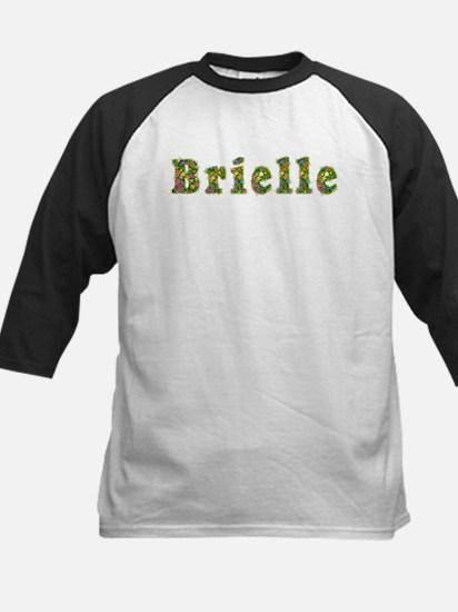 Brielle Floral Kids Baseball Jersey