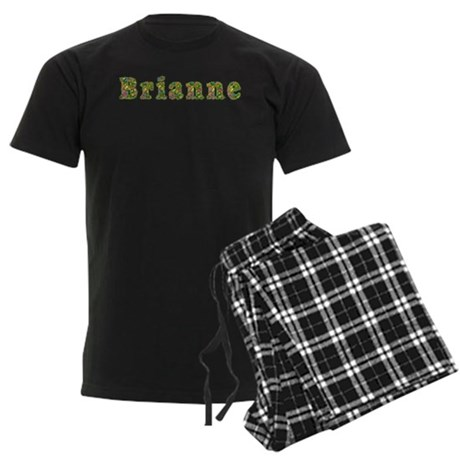 Brianne Floral Men's Dark Pajamas