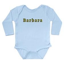 Barbara Floral Long Sleeve Infant Bodysuit