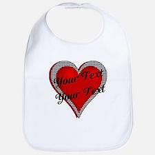 Crimson Heart Bib