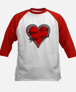 Crimson Heart Kids Baseball Jersey