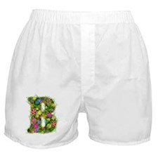B Floral Boxer Shorts