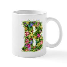 B Floral Mug