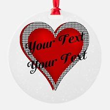 Crimson Heart Ornament