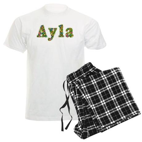 Ayla Floral Men's Light Pajamas
