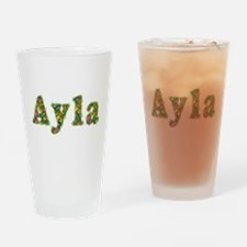 Ayla Floral Drinking Glass