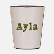Ayla Floral Shot Glass