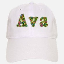 Ava Floral Baseball Baseball Cap