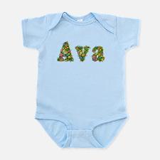 Ava Floral Infant Bodysuit