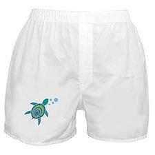 Ocean Doctor Sea Turtle Logo Boxer Shorts