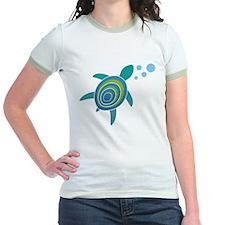 Ocean Doctor Sea Turtle Logo Jr. Ringer T-Shirt
