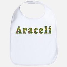 Araceli Floral Bib