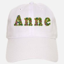 Anne Floral Baseball Baseball Cap