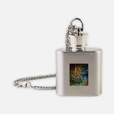Christmas Hymn Flask Necklace