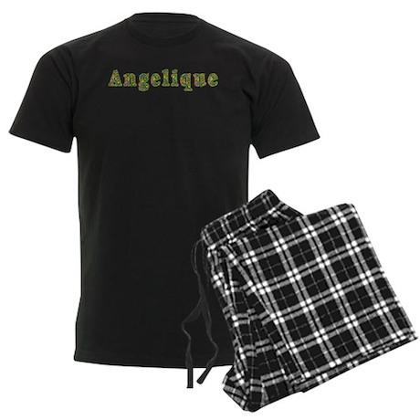 Angelique Floral Men's Dark Pajamas