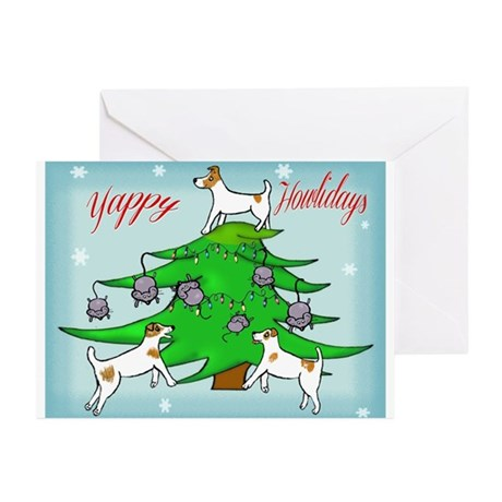 Jack Russell Terrier Christmas Greeting Cards (Pk