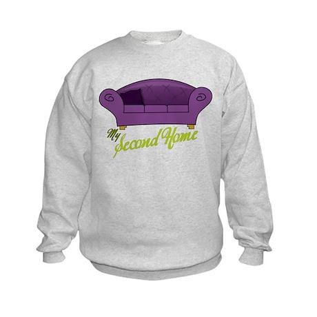 My Second Home Kids Sweatshirt
