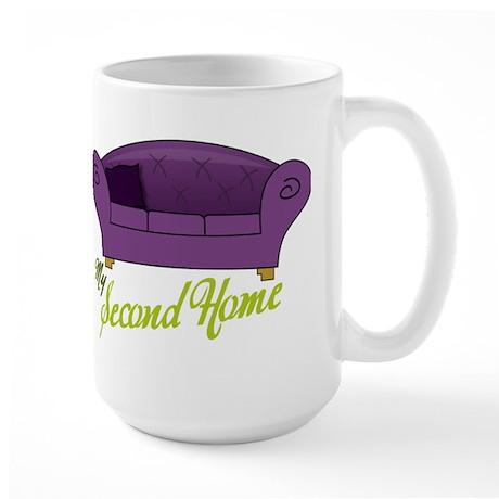 My Second Home Large Mug
