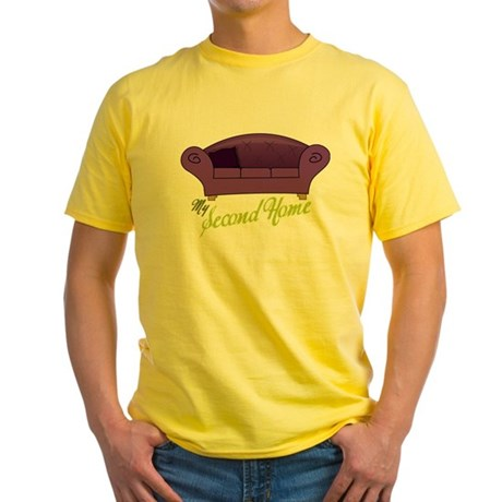 My Second Home Yellow T-Shirt