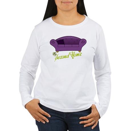 My Second Home Women's Long Sleeve T-Shirt