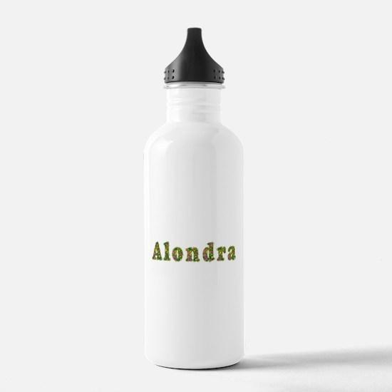 Alondra Floral Sports Water Bottle
