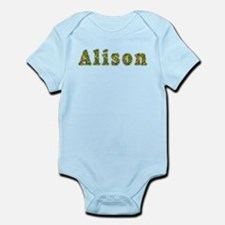 Alison Floral Infant Bodysuit