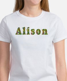 Alison Floral Tee