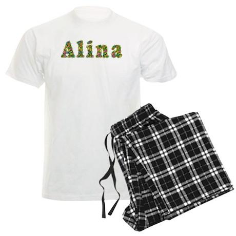 Alina Floral Men's Light Pajamas