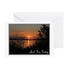Just For Today Greeting Cards