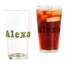 Alexa Floral Drinking Glass