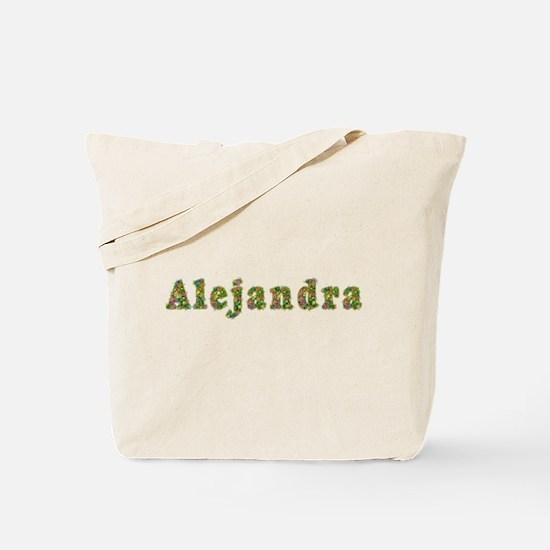 Alejandra Floral Tote Bag