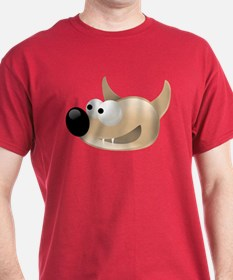 Wolfie Werewolf Red T-Shirt