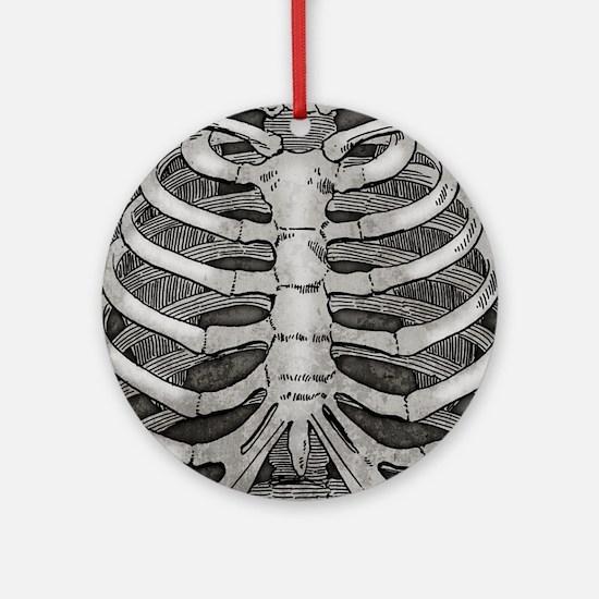 Rib Bones Ornament (Round)