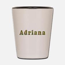 Adriana Floral Shot Glass