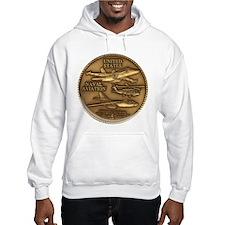 Bronze Naval Aviation Centennial Hoodie