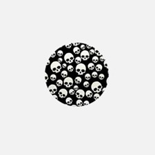 Random Skull Pattern Mini Button