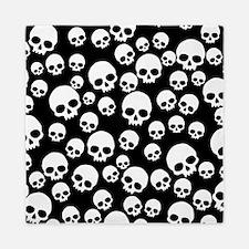 Random Skull Pattern Queen Duvet