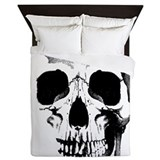 Skull Luxe Full/Queen Duvet Cover