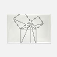 Euclid's Pythagorean Proof Rectangle Magnet