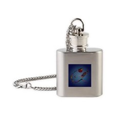 The Reader Flask Necklace