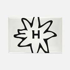 Haflinger Rectangle Magnet
