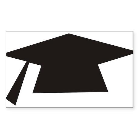 graduation Sticker (Rectangle)