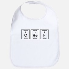 Chef Element Symbols Bib