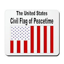 U.S. Civil Flag of Peacetime Mousepad