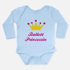Ballett Prinzessin Long Sleeve Infant Bodysuit