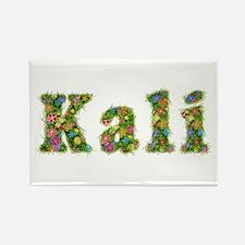 Kali Floral Rectangle Magnet