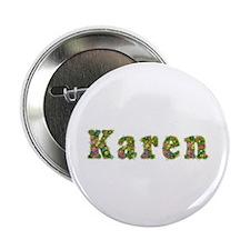 Karen Floral Button