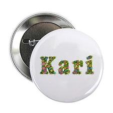 Kari Floral Button